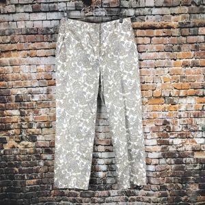 Brooks Brothers '346' Crop Pants Women Sz 6